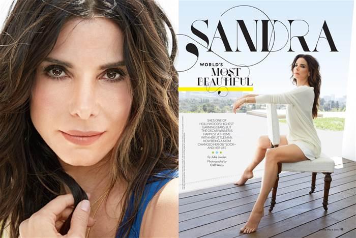 sandra bullock most beautiful woman 2015 people magazine