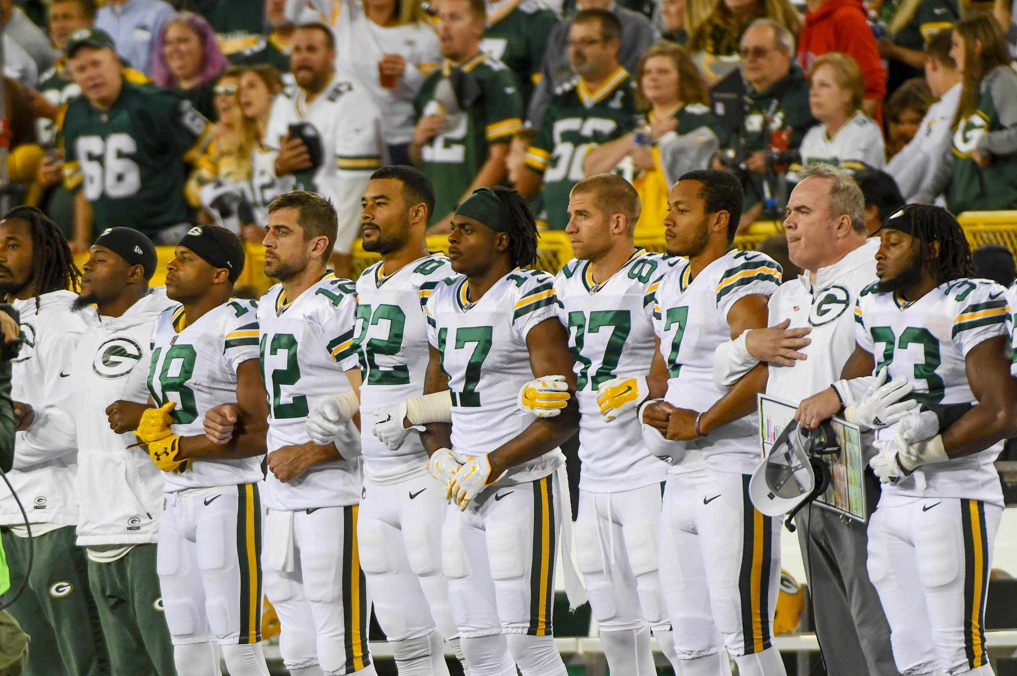 Green Bay Packers Try to Force Fans Into Anthem Demonstration — But They Want Nothing To Do With It!